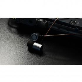 Knowledge Zenith HiFi Metal In-ear Earphones Heavy Bass 9.6mm Driver with Mic - KZ-ED4 - Gun Metallic - 6