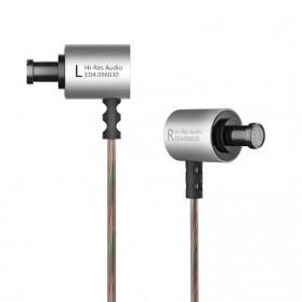 Knowledge Zenith HiFi Metal In-ear Earphones Heavy Bass 9.6mm Driver with Mic - KZ-ED4 - Silver - 5