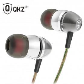 QKZ Earphone Dengan Mic - QKZ-X8 - Silver