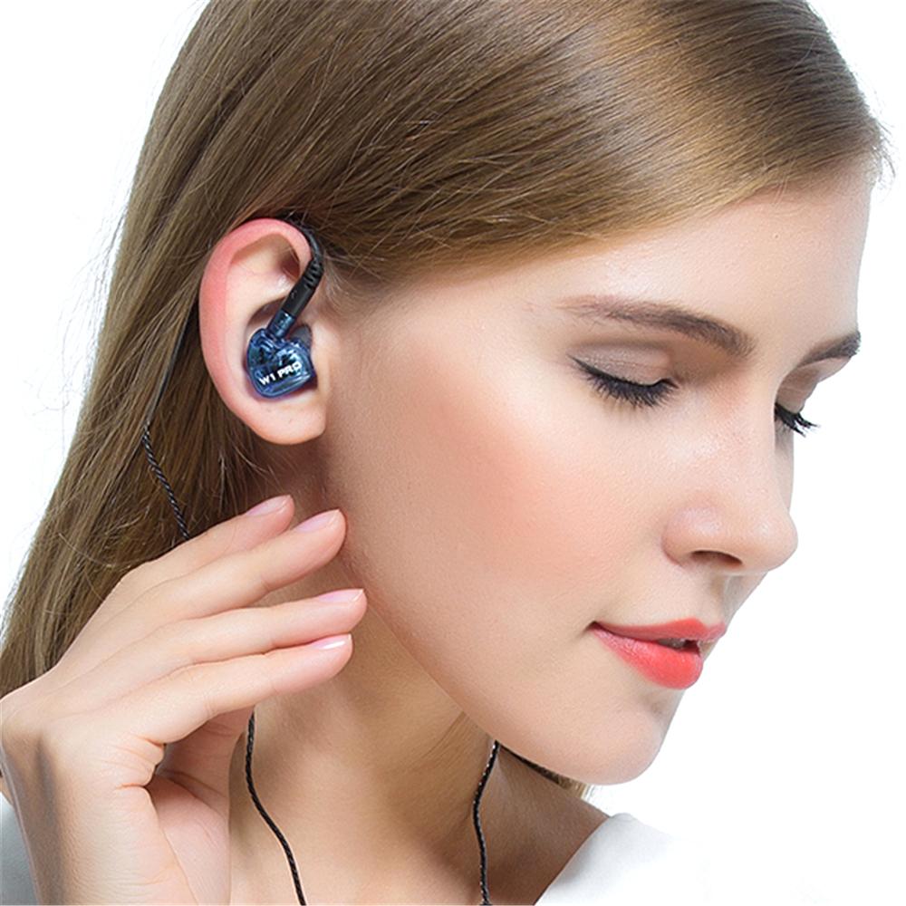 Qkz Earphone Olahraga Dengan Mic W1 Pro Black Quality Knowledge Zenith Ck5 In Ear With Microphone Biru 5