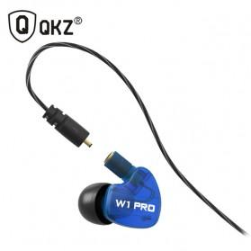 QKZ Earphone Olahraga Dengan Mic - QKZ-W1 PRO - Blue