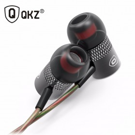 QKZ Balanced Professional Bass In-Ear Earphones with Microphone - QKZ-X3 - Black