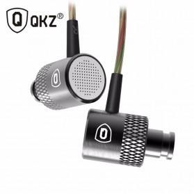 QKZ Balanced Professional Bass In-Ear Earphones with Microphone - QKZ-X3 - Black - 2