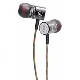 QKZ Balanced Professional Bass In-Ear Earphones with Microphone - QKZ-X3 - Black - 7