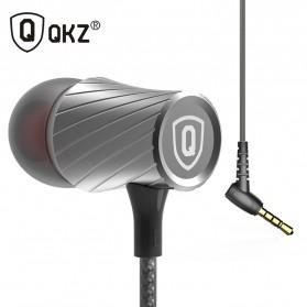 QKZ Tornado Super Bass In-Ear Earphones with Microphone - QKZ-X9 - Silver - 3