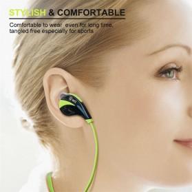 QKZ Sport Wireless Bluetooth Earphone - QKZ-G6 - Black - 2