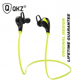 QKZ Sport Wireless Bluetooth Earphone - QKZ-G6 - Green