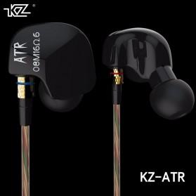 Knowledge Zenith HiFi Earphones Microphone Edition - KZ-ATR - Black - 3