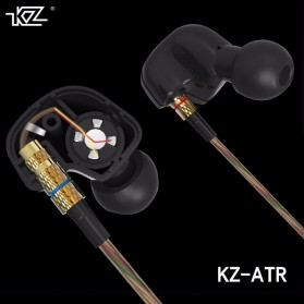 Knowledge Zenith HiFi Earphones Microphone Edition - KZ-ATR - Black - 4