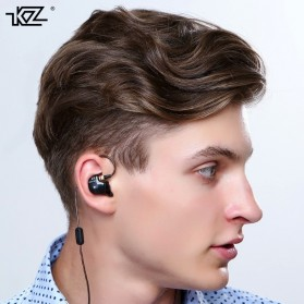 Knowledge Zenith HiFi Earphones Microphone Edition - KZ-ATR - Black - 8