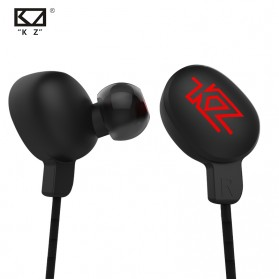 Knowledge Zenith Earphone Bluetooth 4.1 APTX Lossless - KZ-HDSE - Black