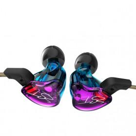 Knowledge Zenith Hybrid Driver Earphone Dengan Mic - KZ-ZST - Multi-Color - 2