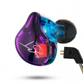 Knowledge Zenith Hybrid Driver Earphone Dengan Mic - KZ-ZST - Multi-Color - 4