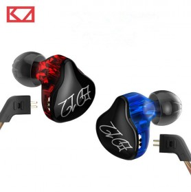 Knowledge Zenith Bass Monitoring Earphones - KZ-ED12 - Black