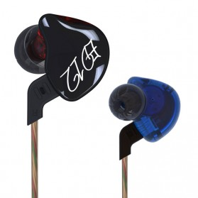 Knowledge Zenith Bass Monitoring Earphones - KZ-ED12 - Black - 2