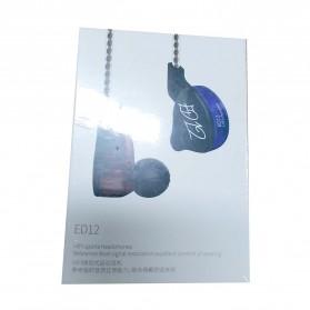 Knowledge Zenith Bass Monitoring Earphones - KZ-ED12 - Black - 6