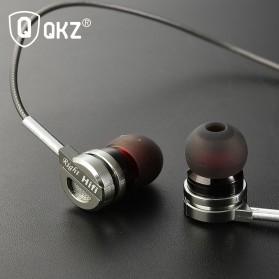 QKZ Bass Metal Earphone with Mic - QKZ-DM9 - Silver - 5