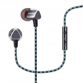 Knowledge Zenith Dual Dynamic Driver Earphone with Mic - QKZ-X36M - Silver