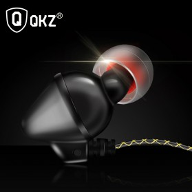 QKZ Piston Earphone with Mic - QKZ-QF2 - Black - 3