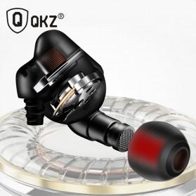 QKZ Piston Earphone with Mic - QKZ-QF2 - Black - 4