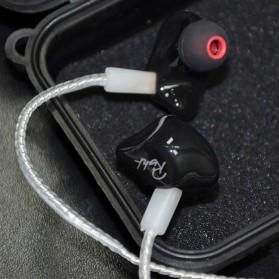 Knowledge Zenith Kabel Silver Earphone 2Pin untuk KZ-ZS3 Matte Version - White - 4