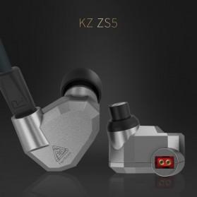 Knowledge Zenith Hybrid Earphone with Mic - KZ-ZS5 - Gray - 7