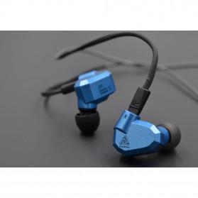 Knowledge Zenith Hybrid Earphone with Mic - KZ-ZS5 - Gray - 9
