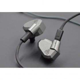 Knowledge Zenith Hybrid Earphone with Mic - KZ-ZS5 - Gray - 10