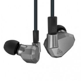 Knowledge Zenith Hybrid Earphone - KZ-ZS5 - Gray