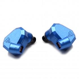 Knowledge Zenith Hybrid Earphone - KZ-ZS5 - Blue - 2