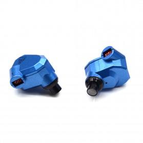Knowledge Zenith Hybrid Earphone - KZ-ZS5 - Blue - 4