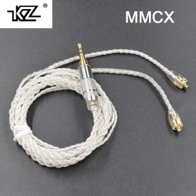 KZ Kabel MMCX Earphone Silver Plating for Shure SE535 SE846 UE900 - Silver