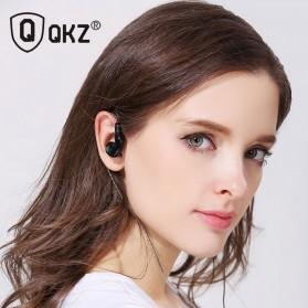 QKZ Triple Driver Earphone Dengan Mic - QKZ-KD9 - Black - 4