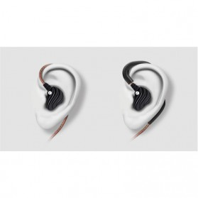 QKZ Double Driver Earphone HiFi Dengan Mic - QKZ-KD4 - Black - 5