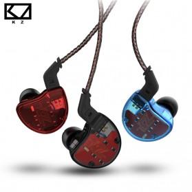 Knowledge Zenith 1DA + 4BA Driver Earphone HiFi Dengan Mic - KZ-ZS10 - Blue - 2