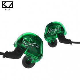 Knowledge Zenith 6 Coil Driver Earphone Dengan Mic - KZ-ZSR - Black - 2