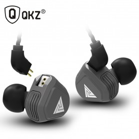QKZ Earphone HiFi Dengan Mic - QKZ-VK2 - Gray