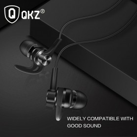QKZ Earphone HiFi Dengan Mic - QKZ-DT1 - Black - 2