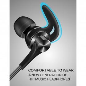 QKZ Earphone HiFi Dengan Mic - QKZ-DT1 - Black - 3