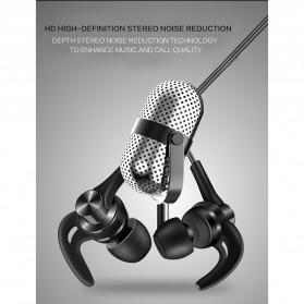 QKZ Earphone HiFi Dengan Mic - QKZ-DT1 - Black - 4
