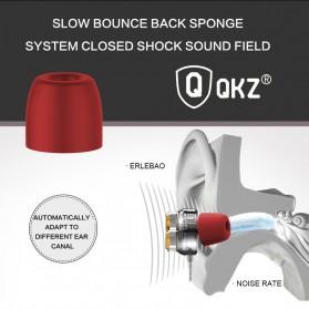 QKZ Earphone HiFi Quad Driver Dengan Mic - QKZ-KD7 - Black - 3