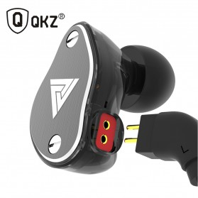 QKZ HiFi Earphone 4 Dynamic Driver - QKZ-VK6 - Black - 3