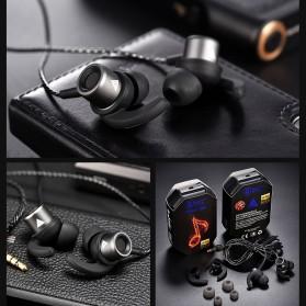 QKZ HiFi Earphone Stereo Sport with Mic - QKZ-CK1 - Black - 9