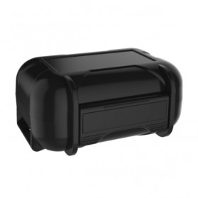 Knowledge Zenith Case Kotak Penyimpanan Earphone Pelican ABS Resin Waterproof Box - Black