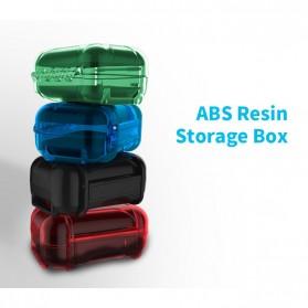 Knowledge Zenith Case Kotak Penyimpanan Earphone Pelican ABS Resin Waterproof Box - Black - 2
