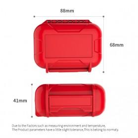 Knowledge Zenith Case Kotak Penyimpanan Earphone Pelican ABS Resin Waterproof Box - Black - 4