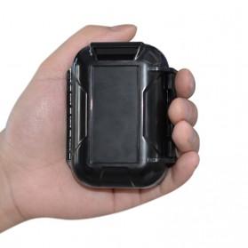 Knowledge Zenith Case Kotak Penyimpanan Earphone Pelican ABS Resin Waterproof Box - Black - 5