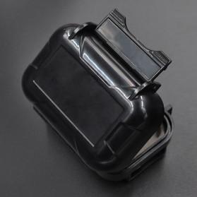Knowledge Zenith Case Kotak Penyimpanan Earphone Pelican ABS Resin Waterproof Box - Black - 6