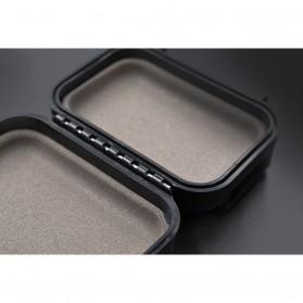 Knowledge Zenith Case Kotak Penyimpanan Earphone Pelican ABS Resin Waterproof Box - Black - 7