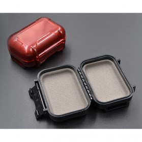 Knowledge Zenith Case Kotak Penyimpanan Earphone Pelican ABS Resin Waterproof Box - Black - 9